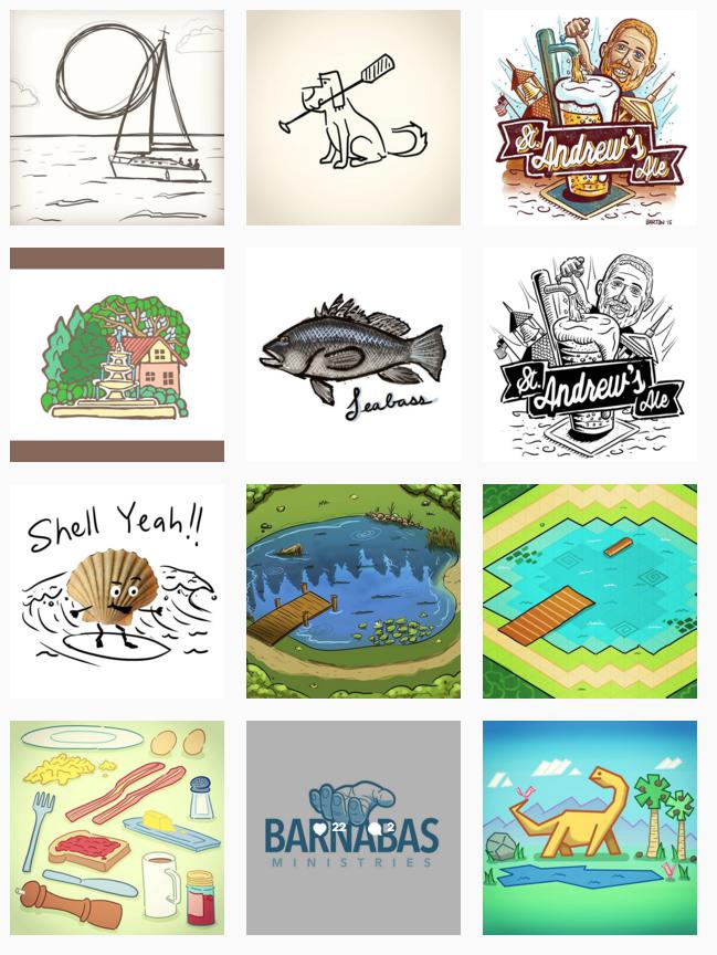 screenshot of thumbnails