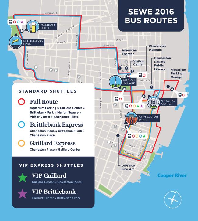 Charleston Map Design