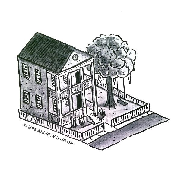 isometric charleston house